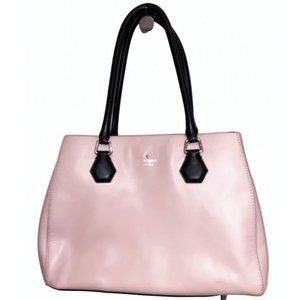Kate Spade Leather Tote, powder pink - w/ dust bag